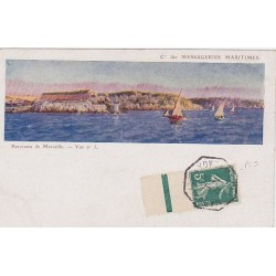 1911 Semeuse PAQUEBOT Marseille à Yokohama