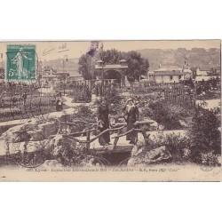 1914 Semeuse Obl MECANIQUE LYON EXPOSITION Bonne cote