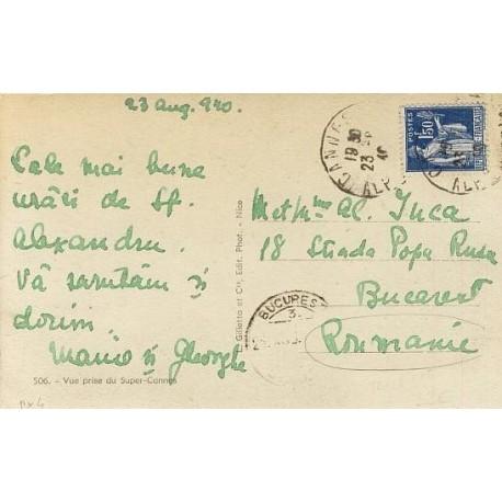 Paix 1f50 sur CP pour la Roumanie