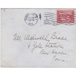 1913 USA Sc398 Panama Pacific Exposition issue on cover