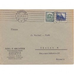 Germany 1931 8p +25p (good stamp) on cover