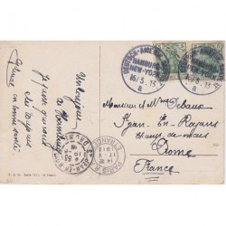 Germany 1919 Deutsch Amerik SEEPOST on PC