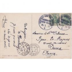 Germany 1919 Deutsch Amerik SEEPOST on PC