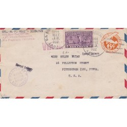 1944 APO 502 NEW CALEDONIA Special Delivery