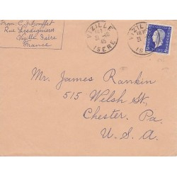 N°695 Dulac sur lettre pour les USA