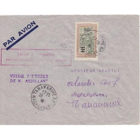 1936 Voyage Etude ASSOLANT Tananarive Farafangana. Madagascar