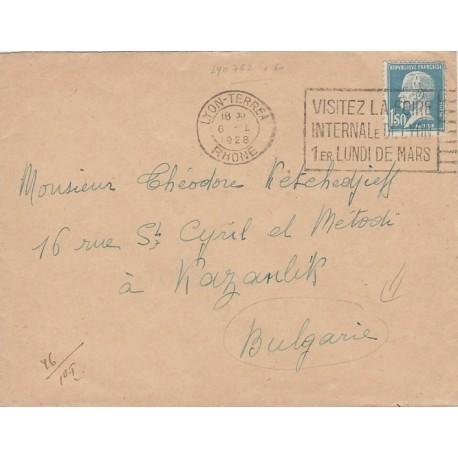Pasteur 1f50 seul pour la Bulgarie